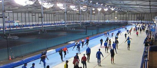 Vrij schaatsen op het YVG-uur
