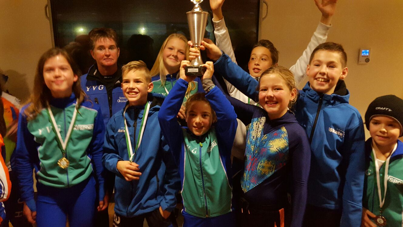 YVG interclub pupillen D T/M A 7 november 2015